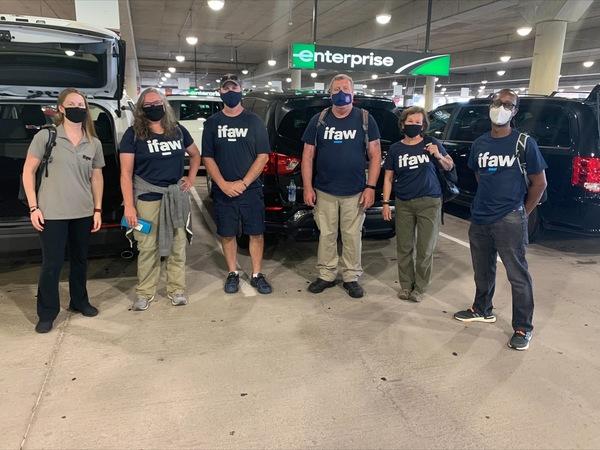 ifaw deploys to Louisiana to help rescue animals from Hurricane Ida