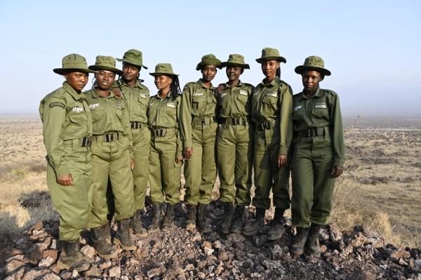 Rangerinnen-Einheit Team Lioness in Kenia erhält Verstärkung