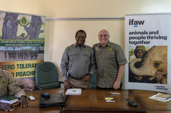 MoU between IFAW and ZimParks: The start of a value-driven Conservation Partnership for wildlife and people to thrive together in Zimbabwe